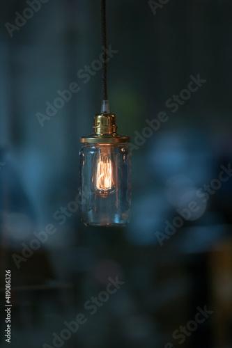 Fototapeta Retro Style Lamps obraz na płótnie