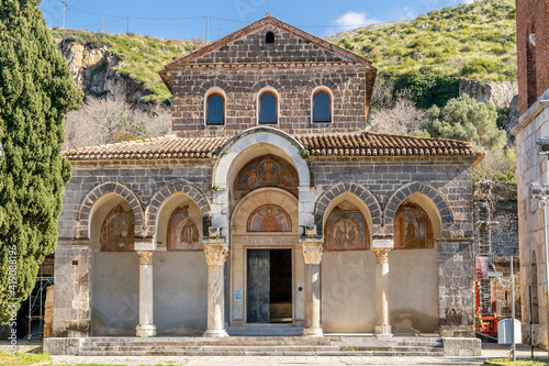 Foto Benedictine Abbey of Sant'Angelo in Formis, dedicated to the Archangel Michael