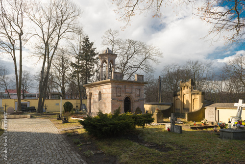 Obraz Kaplica Grobu Bożego w mieście Żagań. - fototapety do salonu