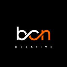 BCN Letter Initial Logo Design Template Vector Illustration