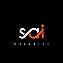 SAI Letter Initial Logo Design Template Vector Illustration