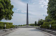 Tomb Of The Unknown Soldier At Memorial Park Of Eternal Glory - Kiev, Ukraine