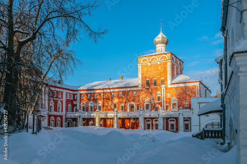 Canvastavla Bishops Chambers of the Vologda Kremlin: Simonovsky Building and the Church of t