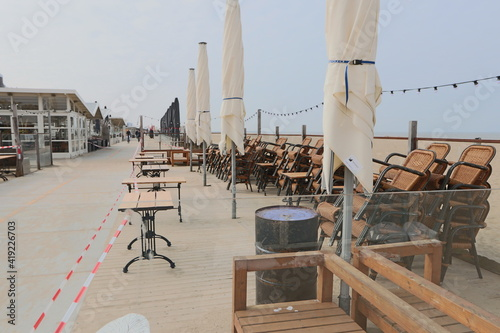 Obraz beach bar lockdown - fototapety do salonu