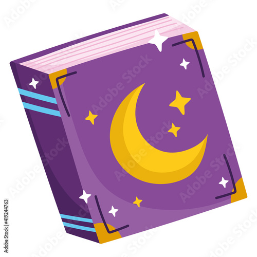 Obraz na plátně magic spell book