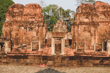 Phanom Rung Is The Name Of An Ancient Sandstone Castle In Buriram Province In Thailand.