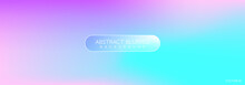 Abstract Soft Cloud Or Rainbow Background In Pastel Colorful Gradation Style. Modern Holographic Gradients Textures That Works Great As For Wallpaper, Banners, Cover, Poster, Story, And Other. Vector