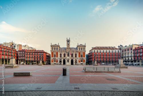 Photo Valladolid ciudad histórica y monumental de la vieja Europa