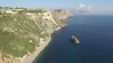 Shooting From The Air Of Fiolent Cape In Sevastopol