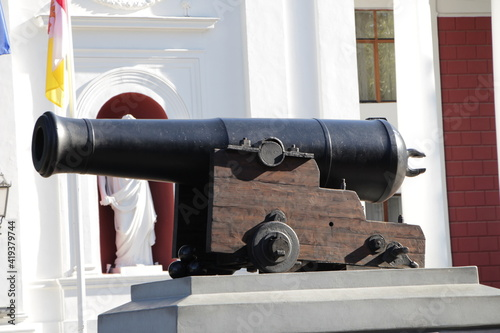 Foto cannon in the fortress