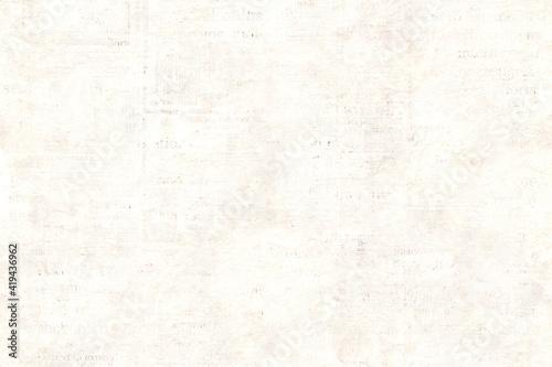 Obraz Newspaper paper grunge vintage old aged texture background - fototapety do salonu