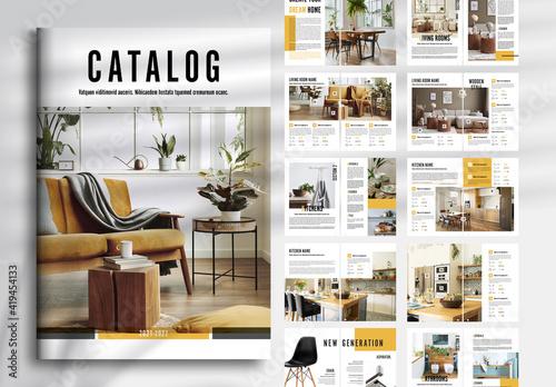 Obraz Product Catalog Layout - fototapety do salonu
