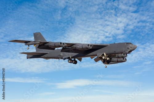 Fotografering B52 Bomber