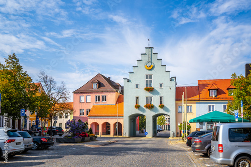 Fototapeta Altstadt, Neumarkt in der Oberpfalz, Deutschland  obraz