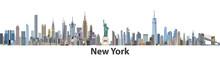 New York Vector City Skyline