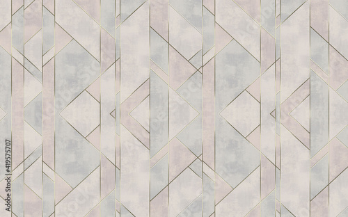Fotografie, Obraz 3d wallpaper print mural TV background