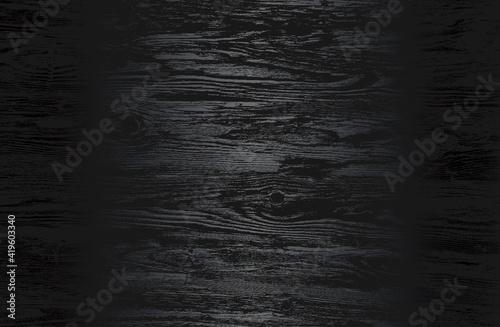 Obraz Luxury black metal gradient background with distressed wooden parquet texture. - fototapety do salonu