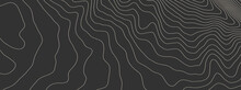 Contours Vector Topography. Geographic Mountain Topography Vector Illustration. Topographic Pattern Texture. Elevation Graphic Contour Height Lines.