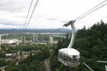 Portland Aerial Tramway Oregon Cablecar
