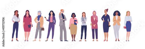 Papel de parede Business women collection