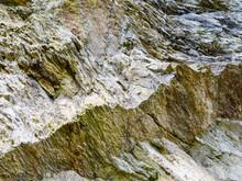 Cobweb In A Crack On A Rock