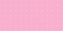 Decorative Seamless Pattern, Background For Your Design. Pink Tones