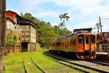 Jingtong Station, Pingxi Railway Line, A Popular Destination In New Taipei City Taiwan