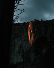 Firefall, Horse Tail Falls, El Capitan, Yosemite National Park
