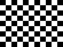Black And White Chess Board Illustration