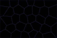 Pattern With Hexagons. Abstract Background With Hexagons. Abstract Background With Code. Stylish Web Image For Creative Design Of Layout. Black Backdrop And Light Purple Pattern. Cool Simple Art Deco