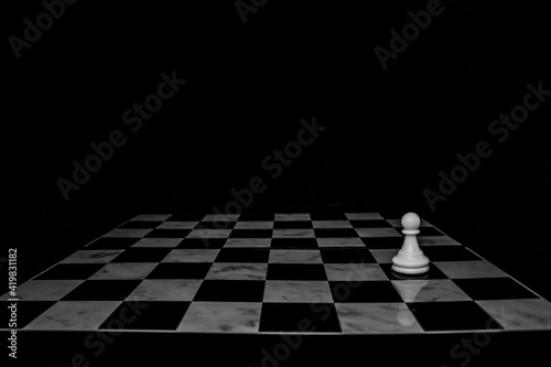Fotografia Business concept design with chess pieces