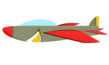 Shark Aircraft Jet Plane Air Force Shark Classic Vintage