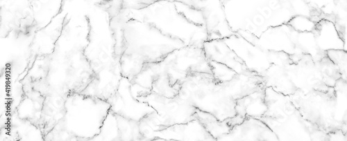 Fotografía Luxury of white marble texture and background for decorative design pattern art
