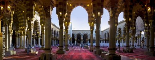 Fotografia Marvelous shot of Masjid al Nabawi