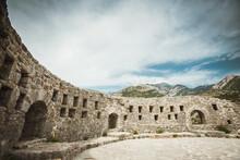 Stari Bar Historical Fortress In Montenegro