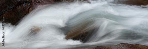 Photo USA, Montana. Avalanche Creek, Glacier National Park.