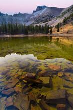 USA, Nevada, Great Basin National Park. Stella Lake Landscape.