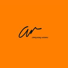 Ar A R Initial Handwriting Or Handwritten Logo For Identity With Beauty Monogram And Elegant Logo Design