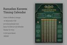 Ramadan Kareem Timing Calendar,Iftar & Sehri,Iftar & Sehri Calendar,Ramadan Kareem Timing Calendar, A3 Islamic Ramadan Calendar, Ramadan Prayer Timing Calendar, Ramadan Calendar 2021, Ramadan Schedul
