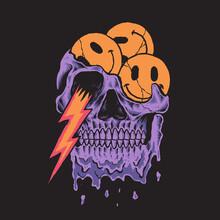 Skull Design Illustration