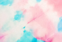 Vintage Tie Dye. Fantasy Texture. Vintage Tie Dye Pattern. Bright Colors Dyed Print. Grunge Fashion Wallpaper. Beautiful Artistic Kaleidoscope. Trendy Acrylic Tie Dye.