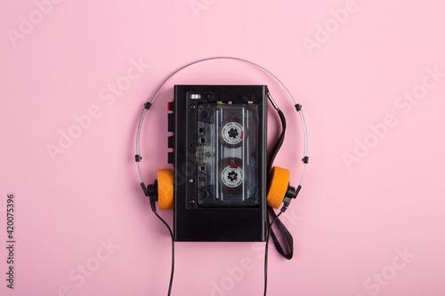 Music listening concept Fototapet