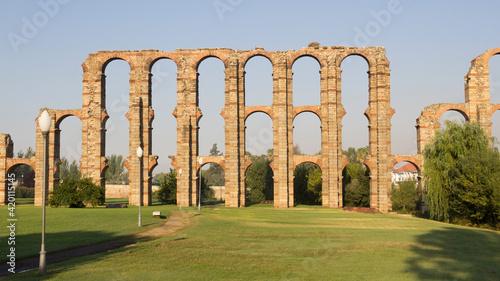 Obraz na plátně Old Roman Aqueduct