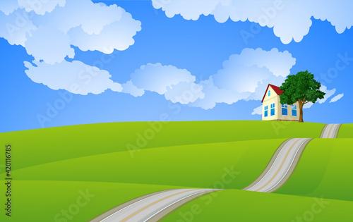Fotografia, Obraz Wallpaper cover background