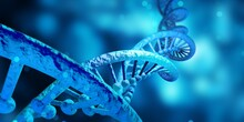 DNA Genetic Structure. Background Concept For Biotechnology And Biology Scientific.