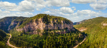 Spearfish Canyon Scenic Byway,  South Dakota Black Hills -