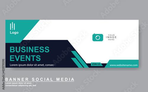 Obraz Vector abstract design web banner template. Web Design Elements - Header Design. Abstract geometric web banner template on grey background.Modern banner. - fototapety do salonu