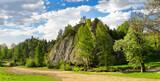 Kociubylska Skała –skała w Dolinie Biała Woda w Małych Pieninach