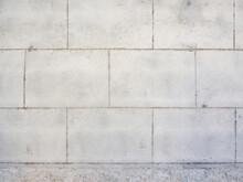 Big White Brick Wall. Seamless Photo Texture