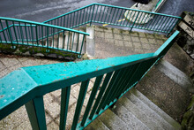 Stairs In An Urban Environment